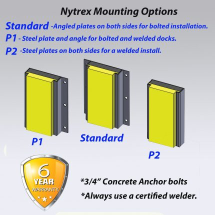 Nytrex-Dock-Bumpers-Mounting-options